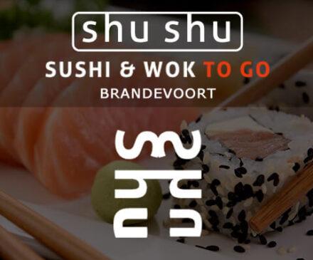 Shu Shu Sushi en Wok to go Brandevoort Helmond