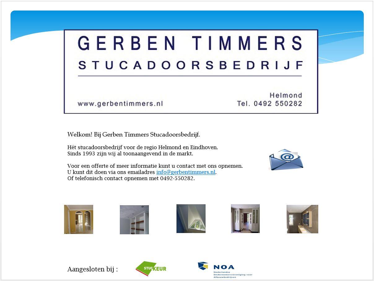 Gerben Timmers Stucadoorsbedrijf