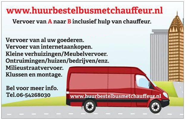 Huurbestelbusmetchauffeur.nl