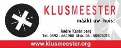 Klusmeester André Kantelberg