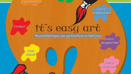 It's Easy Art Muurschilderingen