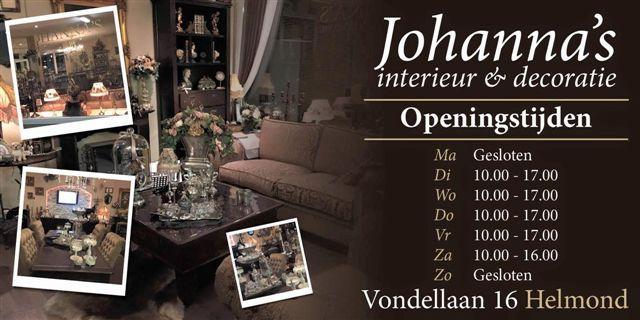 Johanna's interieur & amp; decoratie