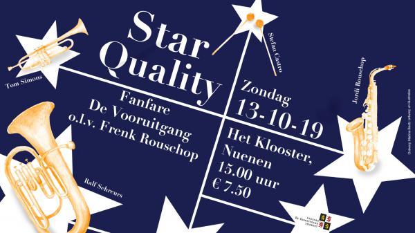 'Star Quality'concert Fanfare De Vooruitgang