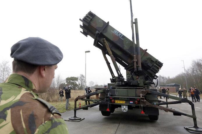 Beëdiging luchtverdedigers in Helmond
