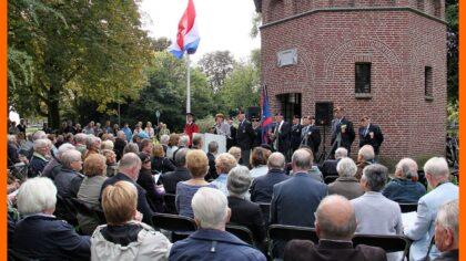 Veteranen Helmond bij bevrijdingsherdenking