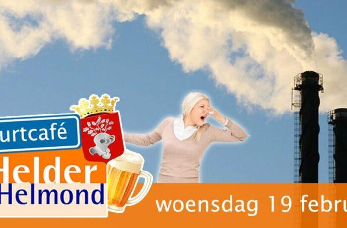 Buurtcafé Helder Helmond over stankoverlast Brouwhuis/Rijpelberg