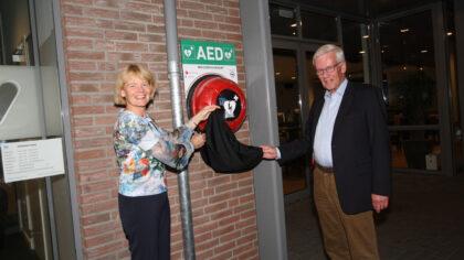 AED-project in Mierlo-Hout officieel in gebruik genomen