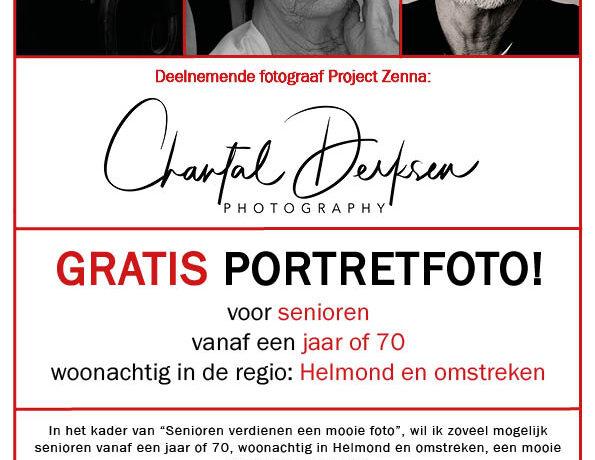 Een gratis foto voor elke senior in regio Helmond e/o!