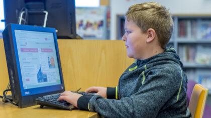 Workshop Powerpoint voor kinderen én ouders in Bibliotheek Helmond