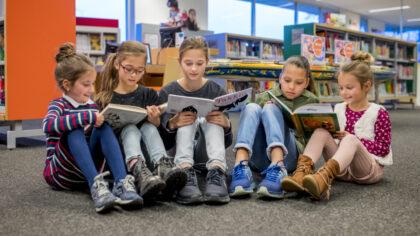 Themaworkshops in Skoolzone Bibliotheek Helmond
