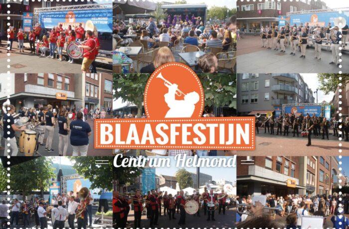 Zondag 29 september Blaasfestijn in het Centrum van Helmond