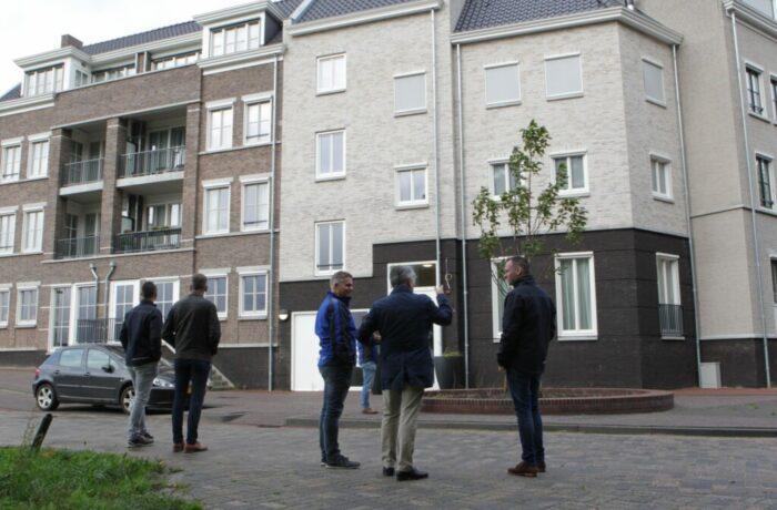 Blije gezichten bij oplevering Blok 25 in Brandevoort