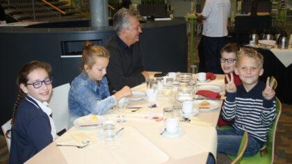 Burgemeesters ontbijt: gezond, gezellig en leerzaam.