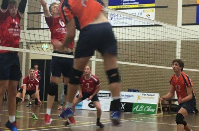 Start volleybalcompetitie met winst en verlies voor VC Polaris