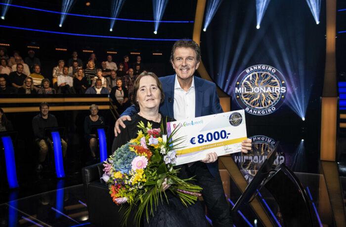 Cobi uit Helmond wint 8.000 euro in laatste aflevering 'BankGiro Miljonairs'