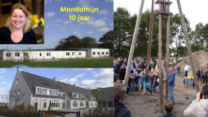 André Kuipers bij 10-jarig jubileumfeest Mondomijn