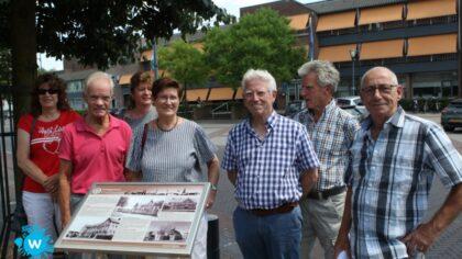 Informatiebord Alphonsus onthuld door Nellie en Gerrit van Neerven