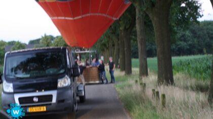 Landing mislukt van Ballon op Berkendonk
