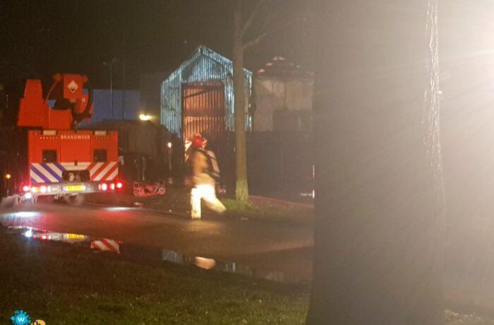 NL-Alert voor grote brand op de Rooseindsestraat Helmond