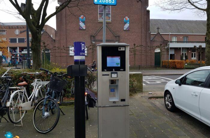 Kentekenherkenning op parkeerterreinen in Helmond.