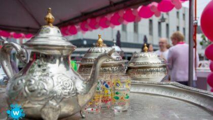 Winkelend publiek Helmond Centrum proeft van Marokkaanse cultuur…
