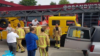 Eervolle uitvaart voor oud-brandweerofficier Jan Kempkens