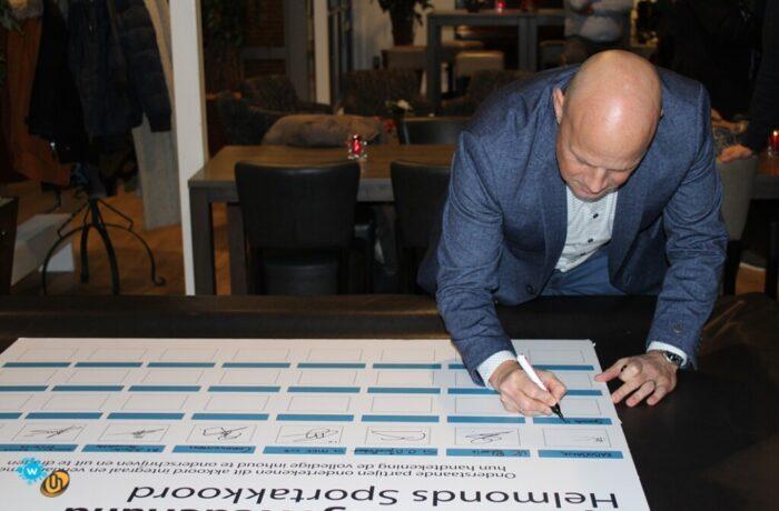 Helmonds Sportakkoord een feit na de ondertekening