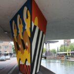 Vierde Carat mural in Helmond-Centrum bijna 850 vierkante meter