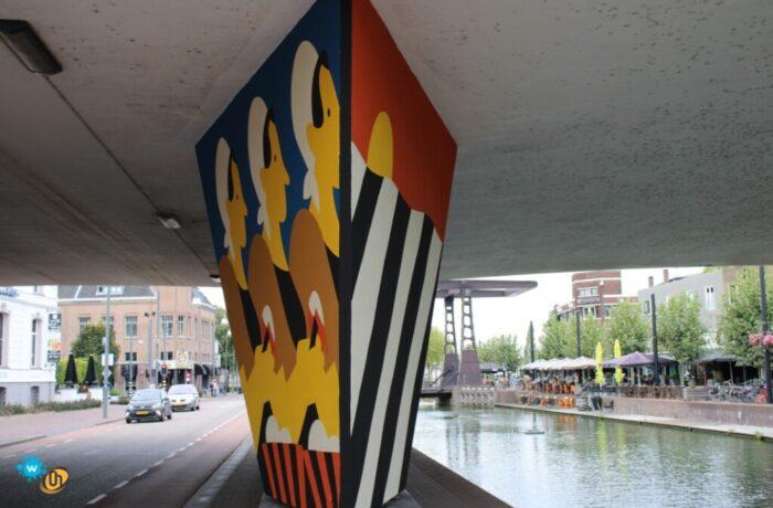 Vierde Carat-mural in Helmond-Centrum bijna 850 vierkante meter