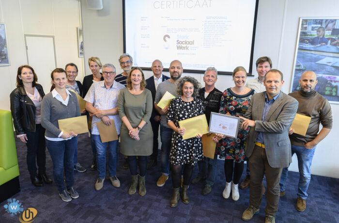 LEVgroep gecertificeerd voor Kwaliteitslabel Sociaal Werk Nederland