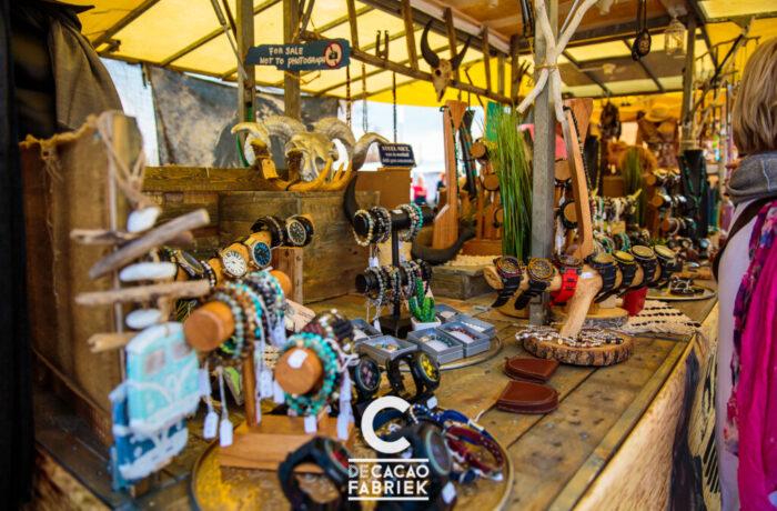 Ibiza-markt on tour bij De Cacaofabriek