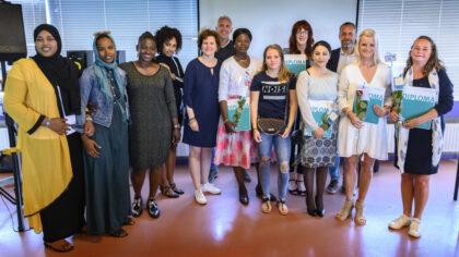 Stadsleerbedrijf Helmond: 8 studenten ontvangen een diploma!