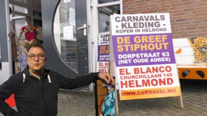 Voor Carnavalskleding kun je naar El Blanco