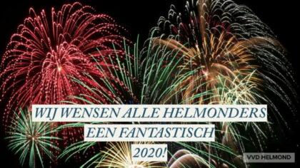 De VVD wenst alle inwoners een fantastisch 2020!