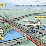 Brug over kanaal maakt snelfietspad Helmond-Eindhoven compleet