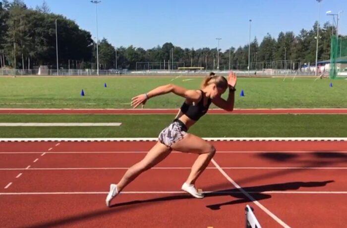 """Kasia gaat voor goud: """"Mijn droom is meedoen aan de Olympische spelen."""""""