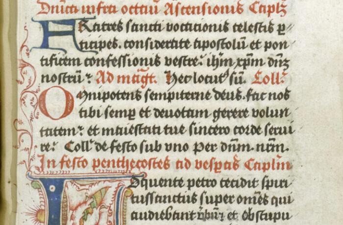Middeleeuws handschrift in Helmond op het spoor