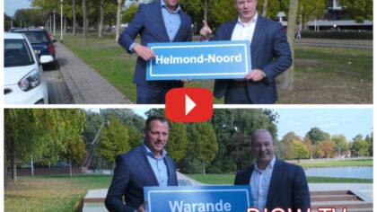 Helmond-Noord en Warande eerste wijken aanleg glasvezel