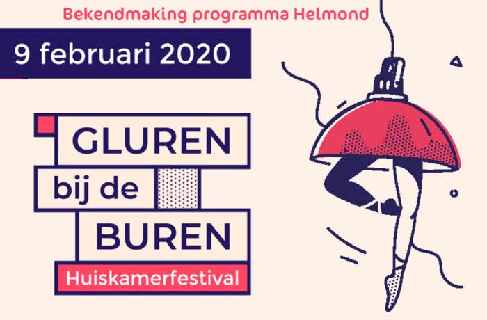 Programma Gluren bij de buren Helmond is bekend