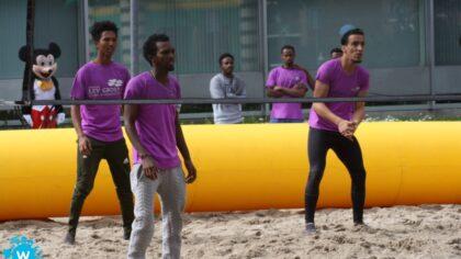 Beachvolleybal- en voetbaltoernooi sluit af met barbecue