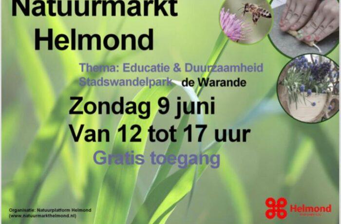 Natuurmarkt Helmond 9 juni