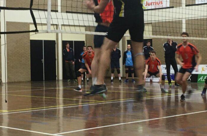 Wisselend succes Polaris volleyballers bij start 2e helf seizoen