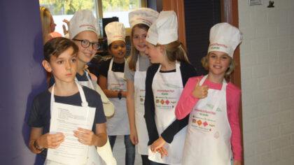 Finale Kids kookwedstrijd: Lars en Wessel winnen met hun pompoen risotto
