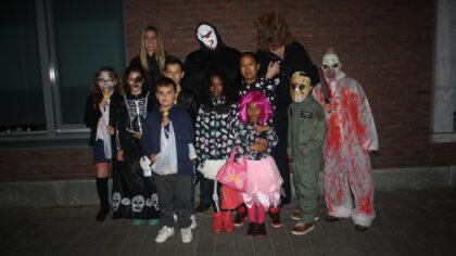 Halloweentocht Zonnekwartier was angstaanjagend maar ook gezellig…