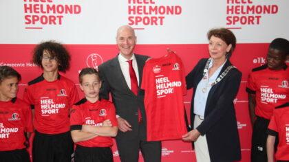 Helmond Sport gaat zich inzetten voor sportievere en vitalere stad