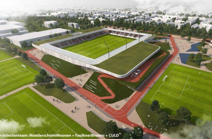 Architecten voor Sport- en (be)leefcampus De Braak in Helmond bekend