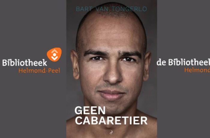 Boeklancering 'Geen Cabaretier' met Leon van der Zanden in Bibliotheek Helmond