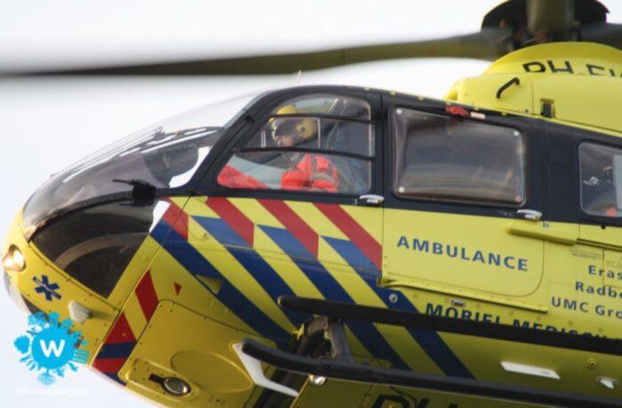 Fietser zwaargewond bij een ongeval in Helmond-Centrum
