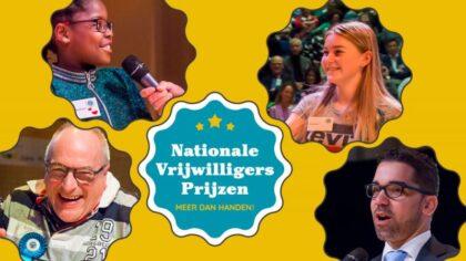 Helmondse kandidaten voor de Nationale Vrijwilligersprijzen bekend