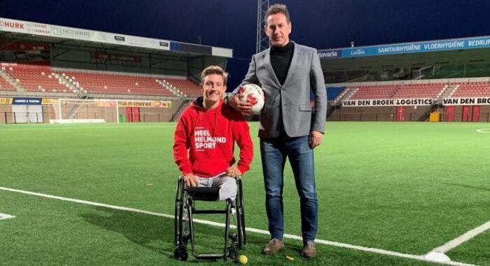 Wereldkampioen rolstoeltennis junioren Niels Vink gaat ook een bijdrage leveren aan heel Helmond Sport.